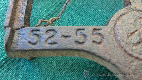 Antigüedades: PIE DE PLANCHA( PIE, SOPORTE O PLANCHERO ) - Foto 7 - 29981725