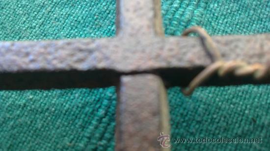 Antigüedades: PIE DE PLANCHA( PIE, SOPORTE O PLANCHERO ) - Foto 2 - 29981725