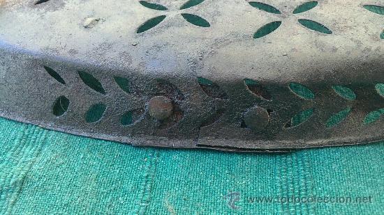 Antigüedades: PIE DE PLANCHA( PIE, SOPORTE O PLANCHERO ) - Foto 4 - 29981584