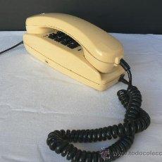 Teléfonos: TELEFONO DE SOBREMESA.COLOR BEIGE.MARCACION TECLADO.TELEFONIA Y ELECTRONICA S.A.FUNCIONA.. Lote 29960995