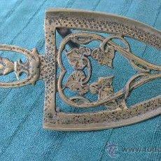 Antigüedades: PIE DE PLANCHA( PIE, SOPORTE O PLANCHERO ). Lote 29981640