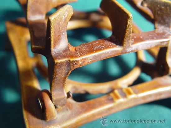 Antigüedades: ANTIGUO INFIERNILLO ESMALTADO DE BOTIQUIN MILITAR DE CAMPAÑA - PARA ESTERILIZAR MATERIAL MEDICO. - Foto 8 - 30085326