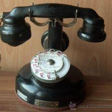 Teléfonos: TELEFONO FRANCES DE 1934 CON AURICULAR SUPLETORIO. Lote 30113932