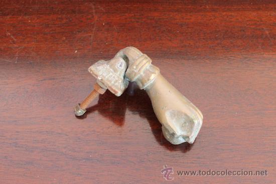 MAGNIFICA ANTIGUA ALDABA EN BRONCE MACIZO (Antigüedades - Técnicas - Cerrajería y Forja - Aldabas Antiguas)