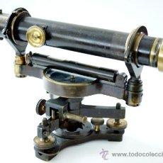 Antigüedades: TEODOLITO FABRICADO POR TROUGHTON & SIMMS - LONDON - S. XIX. Lote 30190290