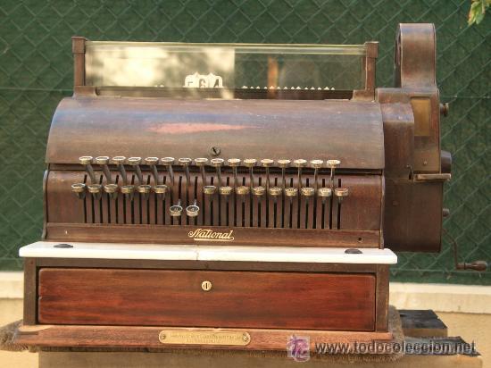 CAJA REGISTRADORA NATIONAL USA DE 1922 (Antigüedades - Técnicas - Aparatos de Cálculo - Cajas Registradoras Antiguas)