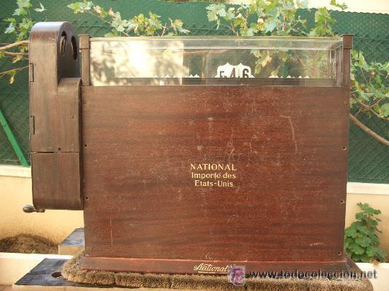 Antigüedades: CAJA REGISTRADORA NATIONAL USA DE 1922 - Foto 6 - 30205513