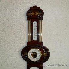 Antigüedades: BAROMETRO-TERMOMETRO. Lote 30224031