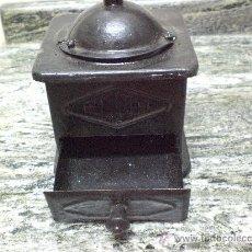 Antigüedades: MOLINILLO DE CAFE METALICO, ELMA. Lote 30249040