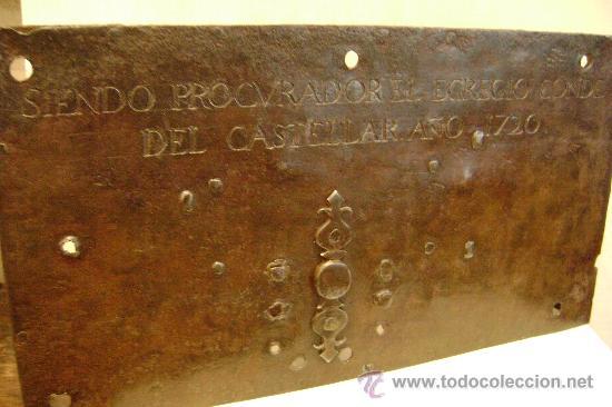 CERRADURA ESPAÑOLA DE 1720 (Antigüedades - Técnicas - Cerrajería y Forja - Cerraduras Antiguas)
