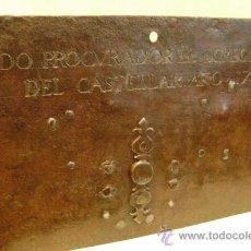 Antigüedades: CERRADURA ESPAÑOLA DE 1720. Lote 30250745
