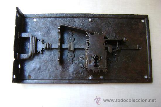 Antigüedades: CERRADURA ESPAÑOLA DE 1720 - Foto 4 - 30250745