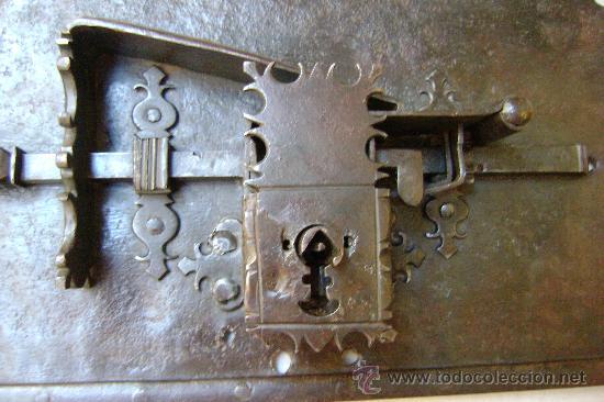 Antigüedades: CERRADURA ESPAÑOLA DE 1720 - Foto 5 - 30250745