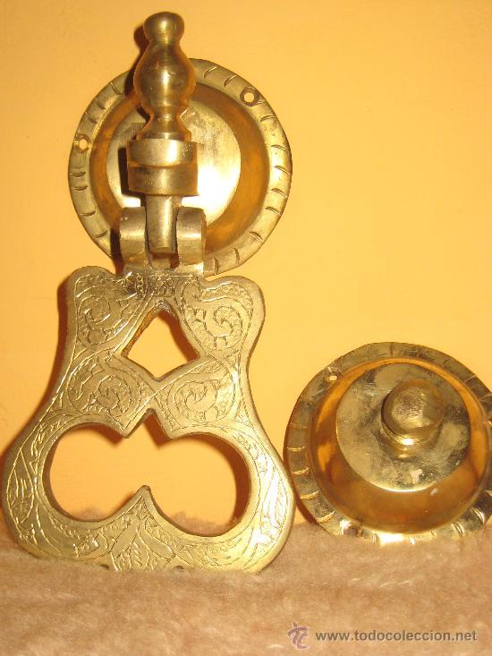 Antigüedades: ELEGANTE Y ARTÍSTICO LLAMADOR EN BRONCE - Foto 4 - 30252246