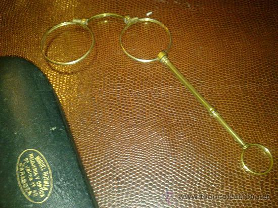 VENDO GAFAS ANTIGUAS PRINCIPIO S. XIX (Antigüedades - Técnicas - Instrumentos Ópticos - Gafas Antiguas)