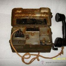 Teléfonos: TELEPHONE SET L YA 3717 -SEGUNDA GUERRA MUNDIAL. Lote 189605496