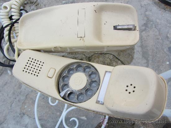 TELÉFONO GÓNDOLA COLOR MARFIL - CITESA - VINTAGE. FUNCIONANDO (Antigüedades - Técnicas - Teléfonos Antiguos)