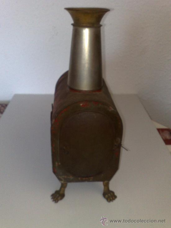 Antigüedades: ANTIQUISIMA LINTERNA MAGICA PROYECTOR DE CINE DE HOJALATA FUNCIONA CON FUEGO SIGLO XIX MUY DIFICIL ! - Foto 3 - 30404383