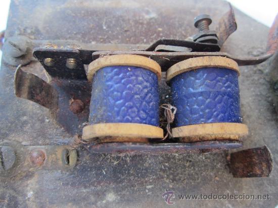 Antigüedades: antiguo timbre de puerta , campana , posiblemente 125 voltios - Foto 3 - 30444020
