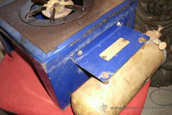 Antigüedades: ANTIGUO INFIERNILLO O CALENTADOR DE LABORATORIO ORIGINAL DE PRINCIPIOS DEL SIGLO XX -PIEZA DE MUSEO - Foto 24 - 30452433