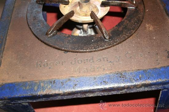 Antigüedades: ANTIGUO INFIERNILLO O CALENTADOR DE LABORATORIO ORIGINAL DE PRINCIPIOS DEL SIGLO XX -PIEZA DE MUSEO - Foto 23 - 30452433