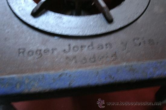 Antigüedades: ANTIGUO INFIERNILLO O CALENTADOR DE LABORATORIO ORIGINAL DE PRINCIPIOS DEL SIGLO XX -PIEZA DE MUSEO - Foto 15 - 30452433