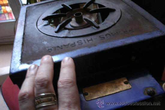 Antigüedades: ANTIGUO INFIERNILLO O CALENTADOR DE LABORATORIO ORIGINAL DE PRINCIPIOS DEL SIGLO XX -PIEZA DE MUSEO - Foto 14 - 30452433