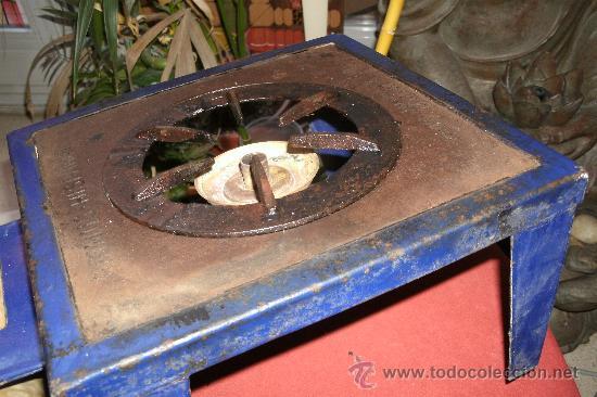 Antigüedades: ANTIGUO INFIERNILLO O CALENTADOR DE LABORATORIO ORIGINAL DE PRINCIPIOS DEL SIGLO XX -PIEZA DE MUSEO - Foto 7 - 30452433
