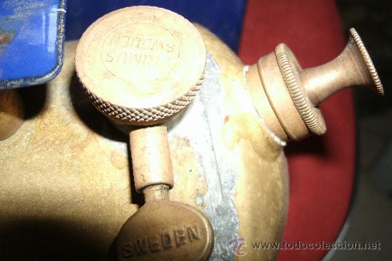 Antigüedades: ANTIGUO INFIERNILLO O CALENTADOR DE LABORATORIO ORIGINAL DE PRINCIPIOS DEL SIGLO XX -PIEZA DE MUSEO - Foto 3 - 30452433