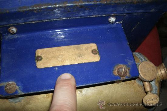 Antigüedades: ANTIGUO INFIERNILLO O CALENTADOR DE LABORATORIO ORIGINAL DE PRINCIPIOS DEL SIGLO XX -PIEZA DE MUSEO - Foto 2 - 30452433