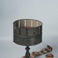 Antigüedades: ZOOTROPO EN MADERA Y METAL. Lote 30467349
