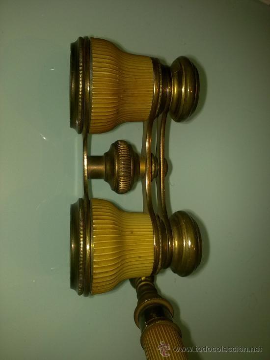 Antigüedades: BINOCULARES MUY ANTIGUOS DE OPERA SIGLO XIX - Foto 2 - 30528319
