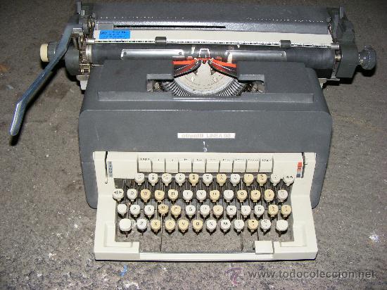 ¡¡¡ 1 MAQUINA DE ESCRIBIR - OLIVETTI - LINEA 98 !!! (Antigüedades - Técnicas - Máquinas de Escribir Antiguas - Olivetti)