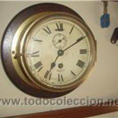 Antigüedades: RELOJ DE MAMPARO DE BARCO. Lote 30576247