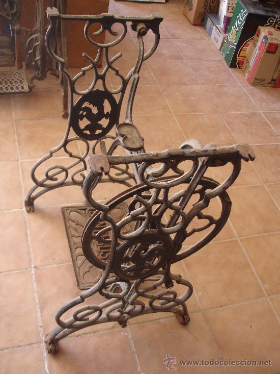 santasusana - pie pies patas mesa de hierro ma - Vendido