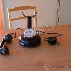 Teléfonos: ANTIGUO TELEFONO AÑOS 20,FUNCIONA. Lote 30788795