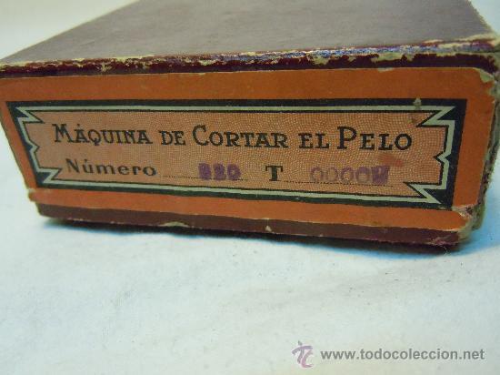 Antigüedades: MAQUINA CORTAR EL PELO KILIMON CON SU CAJA - Foto 5 - 30653191