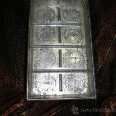 Antigüedades: MOLDE METALICO DE CHOCOLATE. Lote 30741242