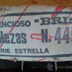 Antigüedades: &-LOTE INTERUPTORES-/SILENCIOSOS/BRISA(SERIE ESTRELLA)25 UNIDADES.SIN/USO. Lote 30728191