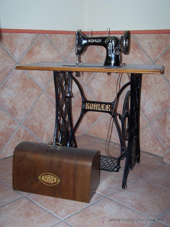 Antigua maquina de coser köhler - Vendido en Venta Directa