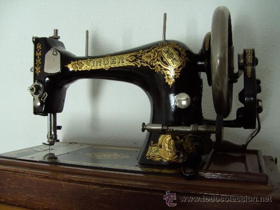 Antigua maquina de coser singer del a o 1909 comprar - Maquinas de coser restauradas ...