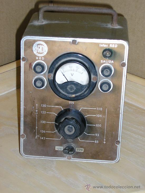 Antiguo transformador electronica regicon comprar - Transformador electrico precio ...
