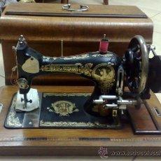 Antigüedades: PPOS. XX .- MAQUINA DE COSER .- FRISTER & ROSSMANN.- . Lote 26739977