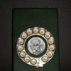 Teléfonos: AGENDA DE TELEFONOS EN METAL. Lote 30946296