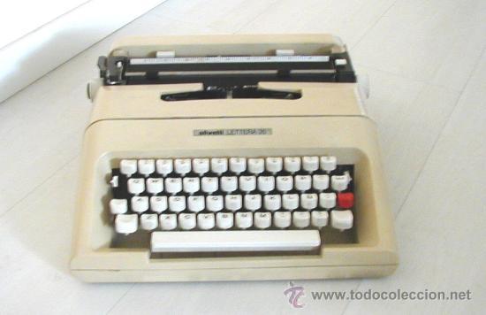 MAQUINA DE ESCRIBIR (Antigüedades - Técnicas - Máquinas de Escribir Antiguas - Olivetti)