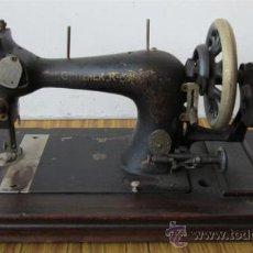 Antigüedades: MAQUINA DE COSER DE MANIVELA .. GRITZNER. R. Lote 30991003