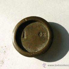 Antigüedades: PONDERAL ONZA INGLESA. Lote 30993359