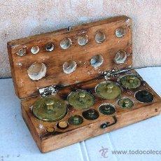 Antigüedades: JUEGO DE PESAS ANTIGUO ,,, PES365. Lote 31039678