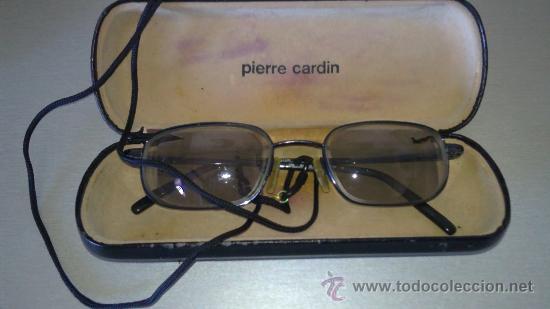 GAFAS VINTAGE GRADUADAS EN ESTUCHE DE PIERRE CARDIN (Antigüedades - Técnicas - Instrumentos Ópticos - Gafas Antiguas)