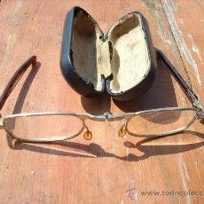 Antigüedades: GAFAS PLEGABLES CON FUNDA. Lote 31046393